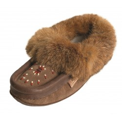 Ladies Suede/Leather Slippers