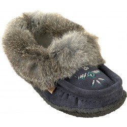 Suede Slippers with sole