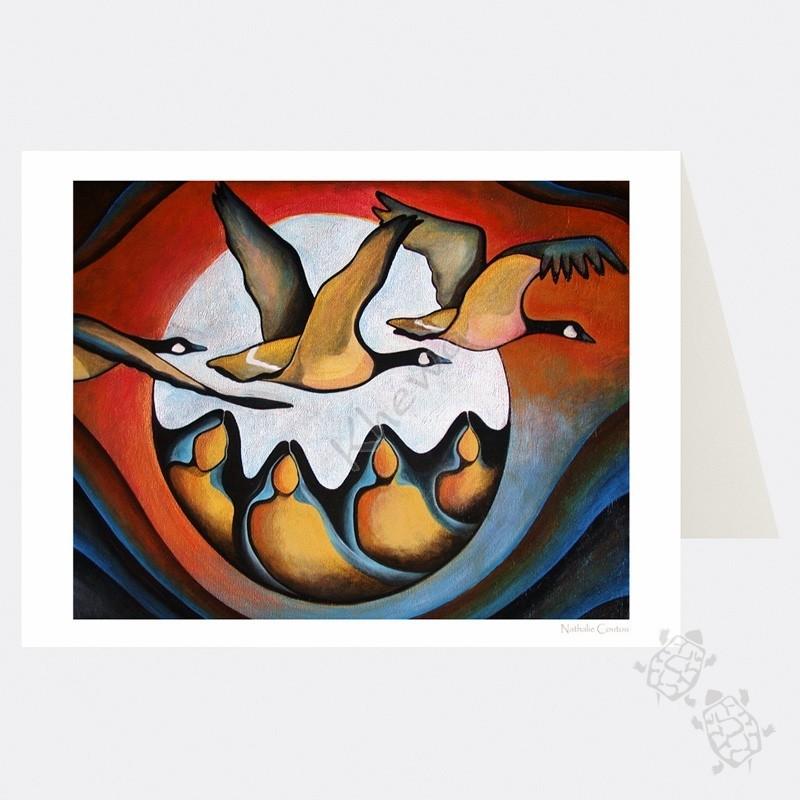 Card - Geese Spirit