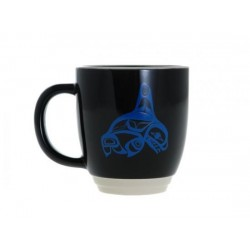 BILL HELIN KILLER WHALE HALO MUG