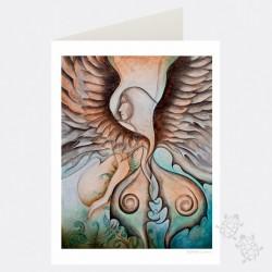 Card - Gezaluwejit by Nathalie Coutou