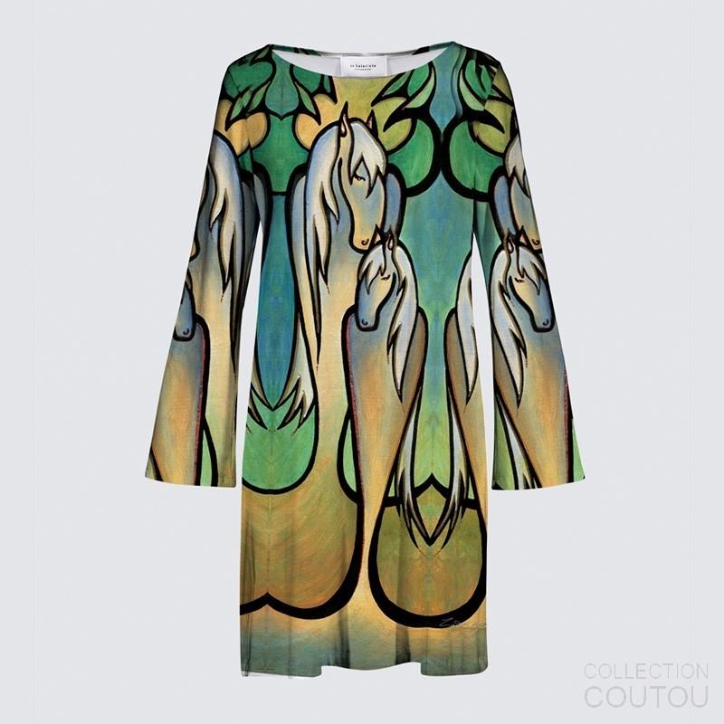 Marianne Flare Dress Whisper