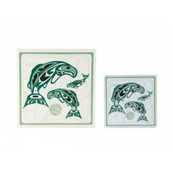 Anthony Joseph Salmon Trivet or Coasters