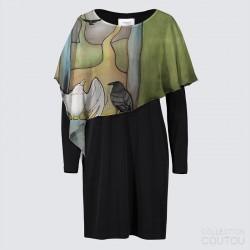"Joni Dress ""Forest Temple"""