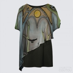 Yoko Cape Tunic «The Forest...