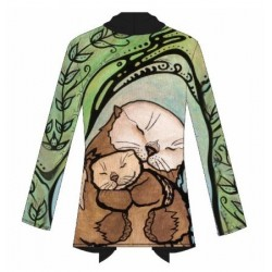 "Frida Cardigan ""M'Otter Love"""