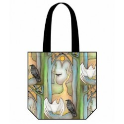 Reuben Tote Bag Forest Temple