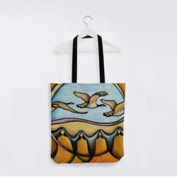 Reuben Tote Bag Merging Earth and Sky