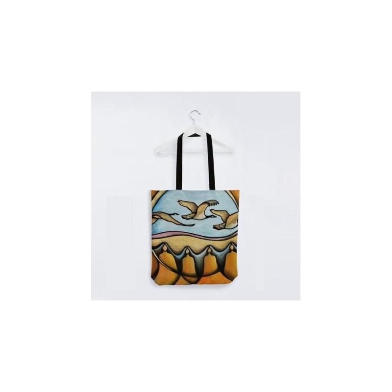 Reuben Tote Bag Merging Earth and Sky