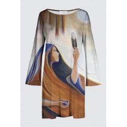 "Robe Marianne ""Rendre Hommage"""