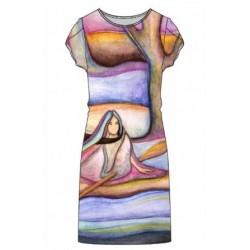 Robe Michelle Soirée Glissant vers l'Automne