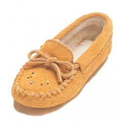 Suede Moccasins for Junior