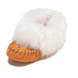 Suede Moccasins for Babies