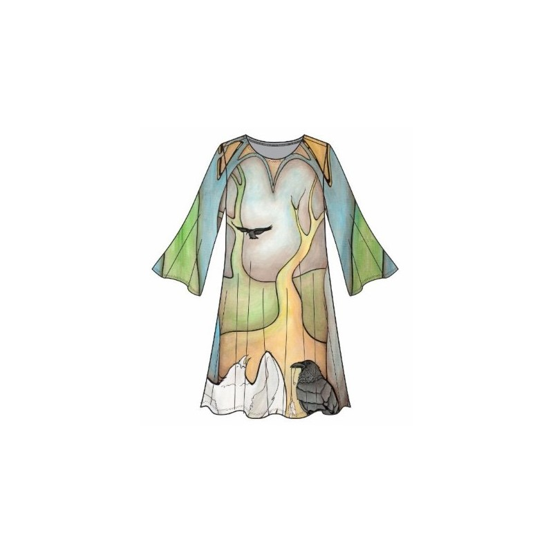 Marianne Flare Dress The Forest Temple