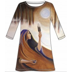 "Patti Tunic ""Giving Thanks"""