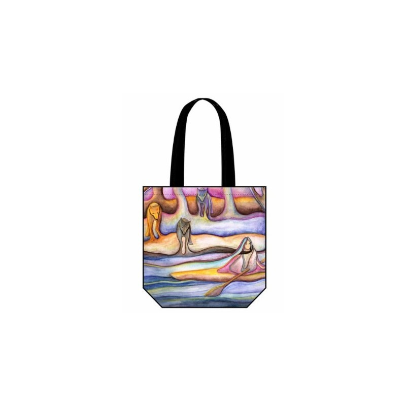 Reuben Tote Bag Early Evening Flowing into Fall