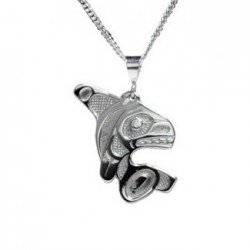 Bill Helin Orca Pendant
