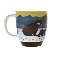 Black Bear Halo Mug