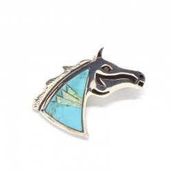Horse Pendant/Brooch