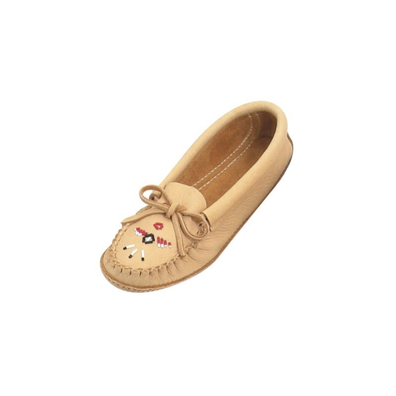 Ladies Leather Moccasins
