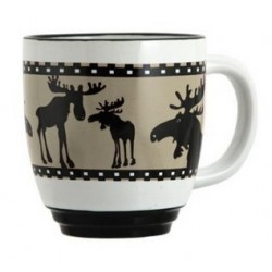 Moose Halo Mug