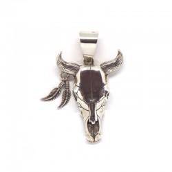 Buffalo Skull Pendant