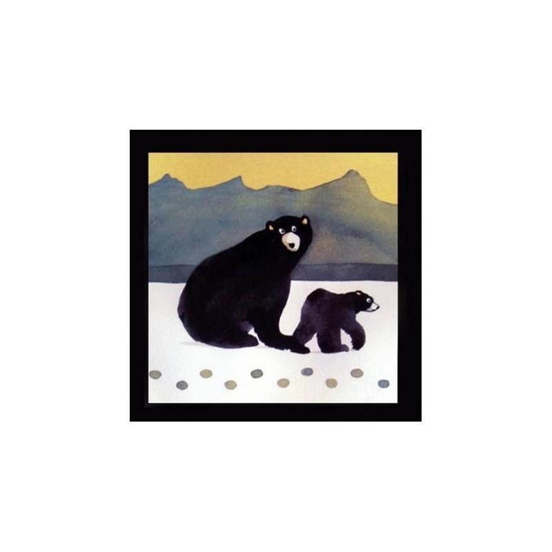 Black Bear Trivet