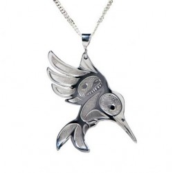 Bill Helin Hummingbird Pendant