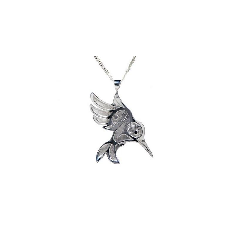 Bill Helin Hummingbird Pendant