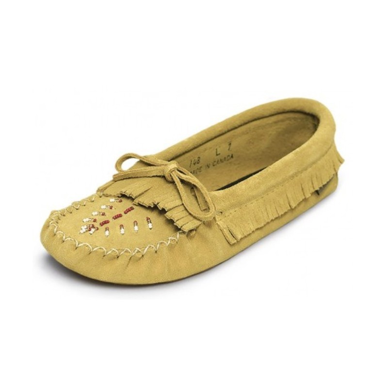 Ladies Suede Moccasins