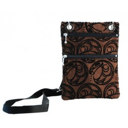 Connie Dickens Raven Passport Bag
