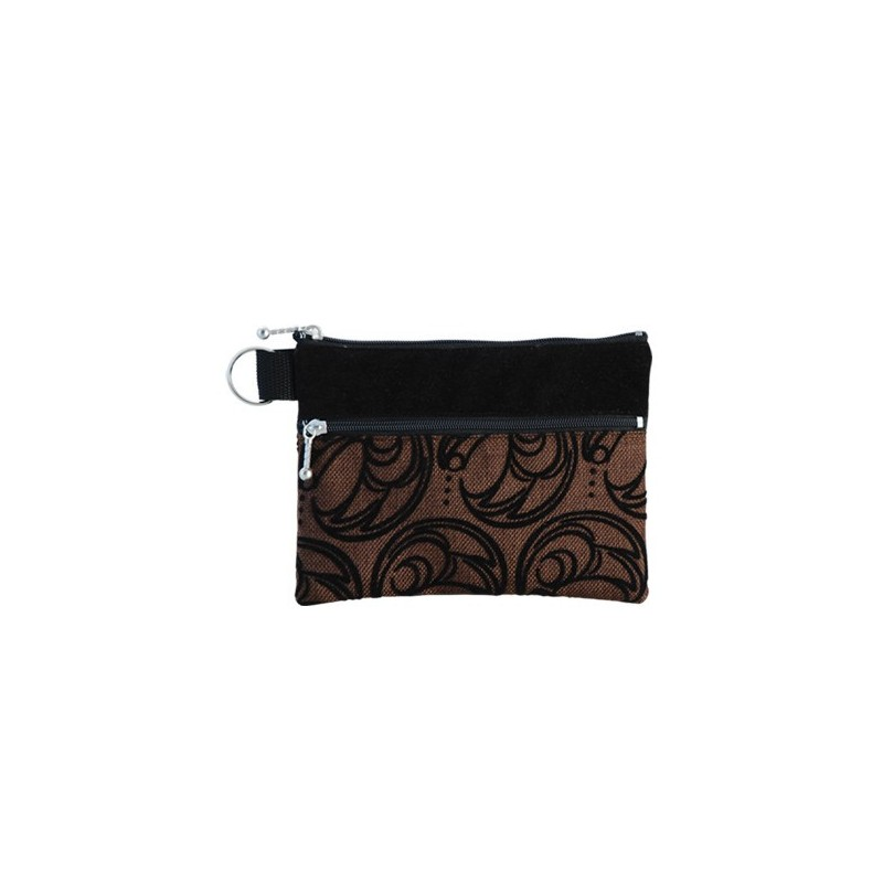 Connie Dickens Raven Zip Pouch