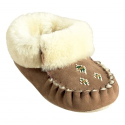 Ladies Suede Slippers