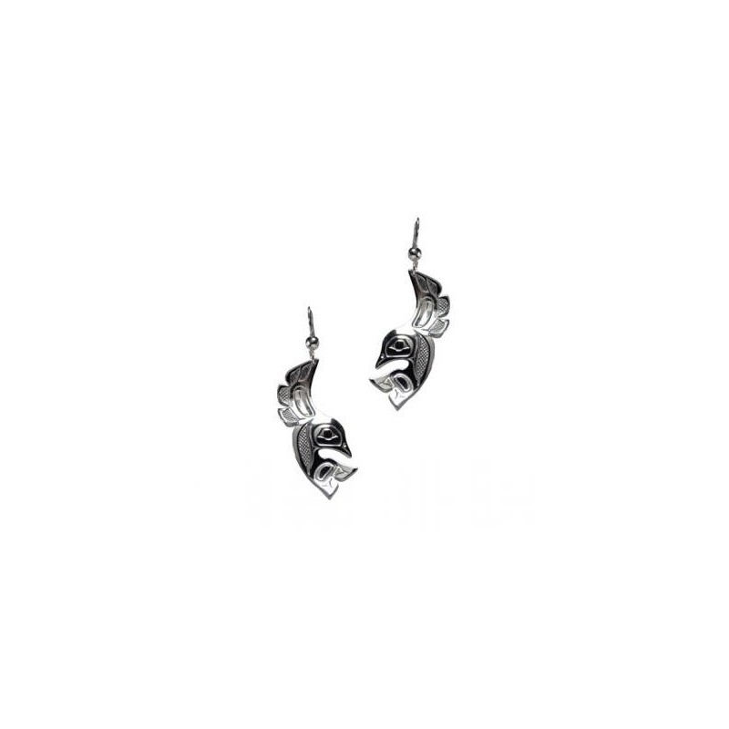Bill Helin Lovebird Earrings