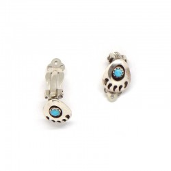 Clip-on Bear Paw Earrings