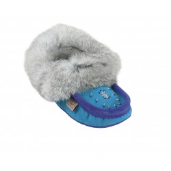 Ladies Suede Slippers