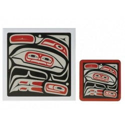 Mark Garfield Raven Trivet or Coasters
