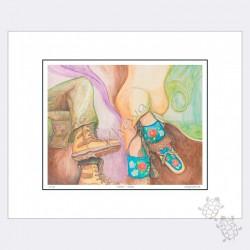 Ltd Edition - Footprint