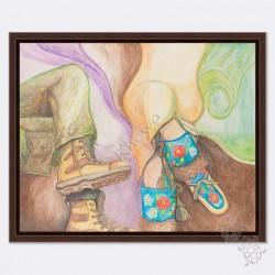 Canvas - Footprint