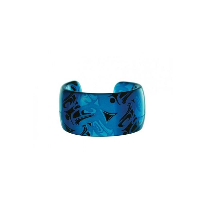Corrine Hunt Silk Inspiration Cuff Bracelet