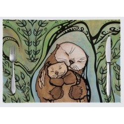 """Nino Place Mats """"M'Otter Love"""""""
