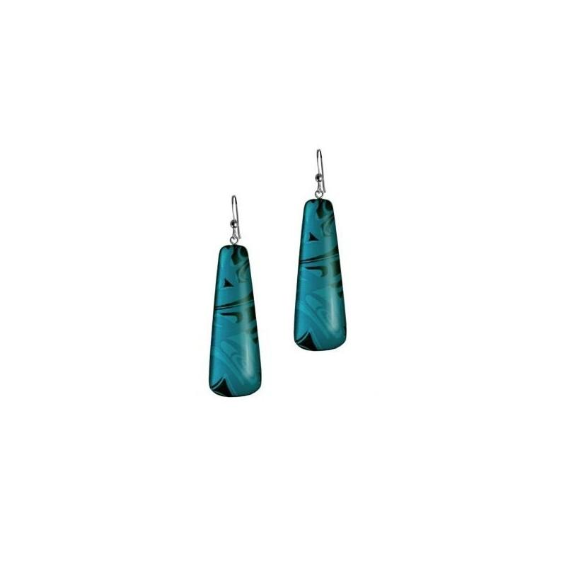 Corrine Hunt Silk Inspiration Drop Earrings