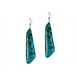 Corrine Hunt Silk Inspiration Trapezoid Earrings