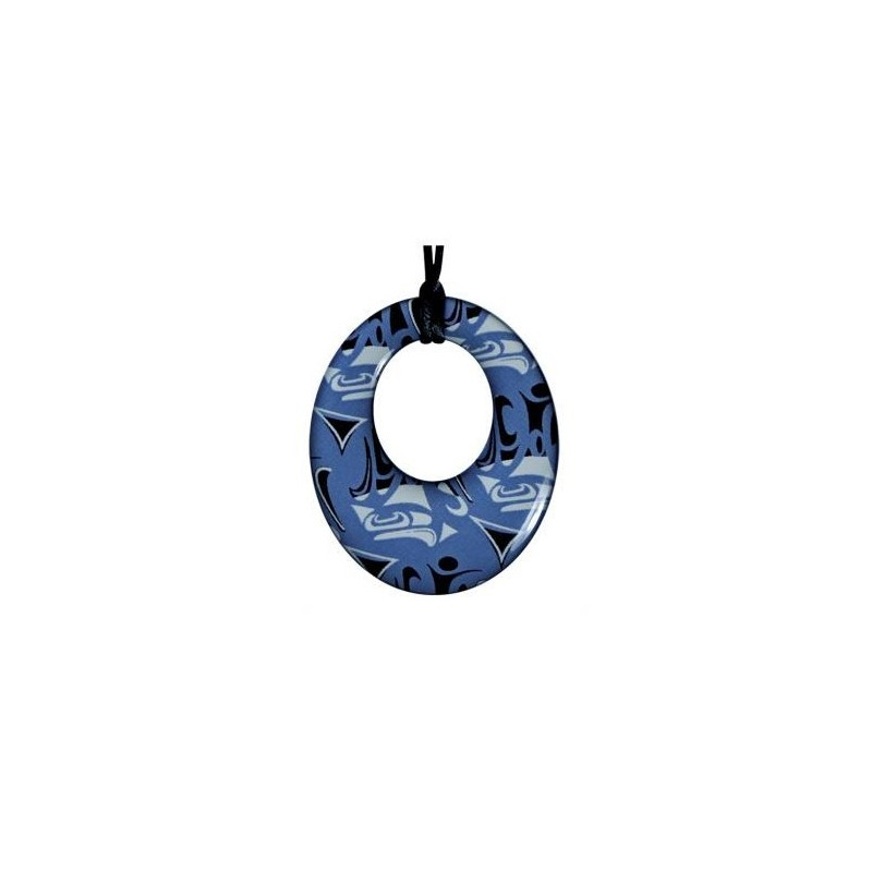 Corrine Hunt Silk Inspiration Round Pendant