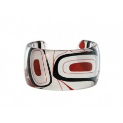 Kelly Robinson Silk Inspiration Cuff Bracelet