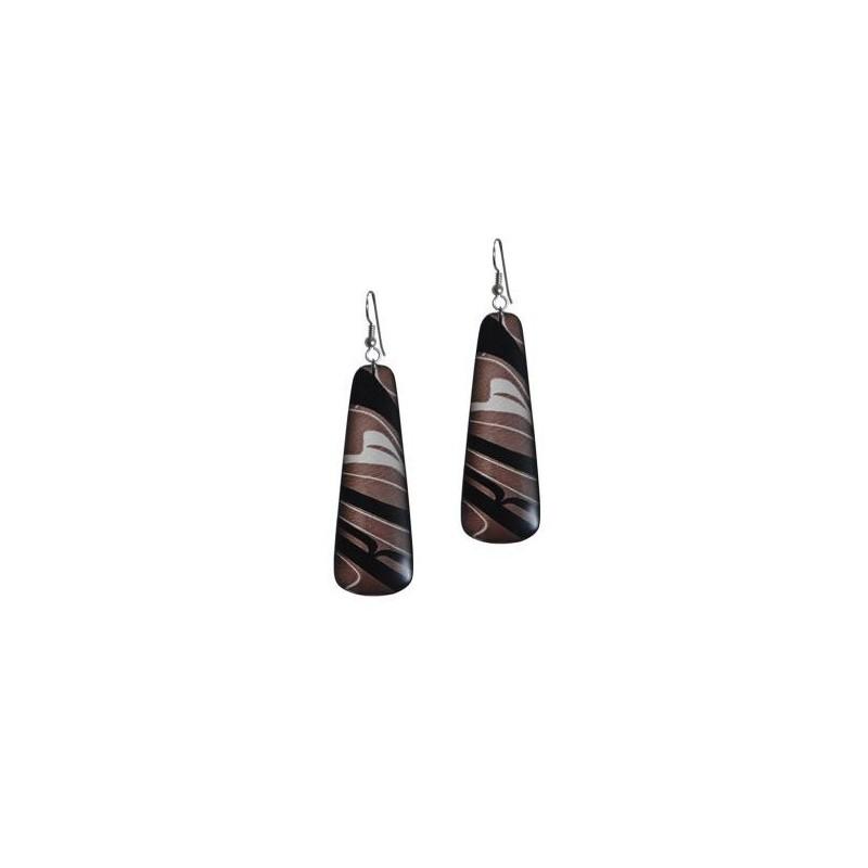 Kelly Robinson Silk Inspiration Drop Earrings