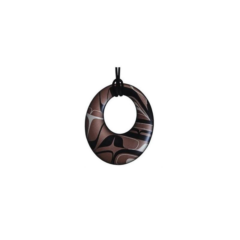 Kelly Robinson Silk Inspiration Round Pendant